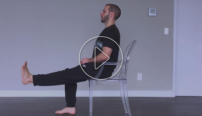 Knee Extensions Exercise